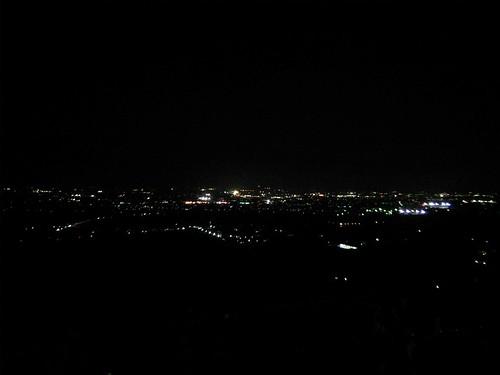みたまの湯からの夜景