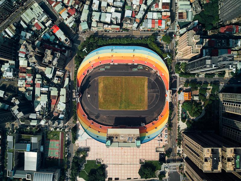 Rainbow stadium Taipei