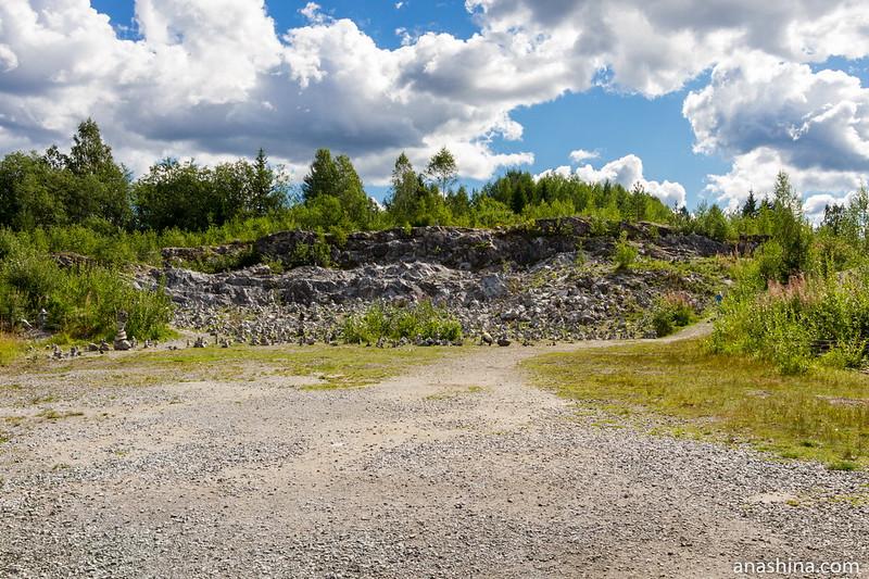 Белая гора, Горный парк Рускеала