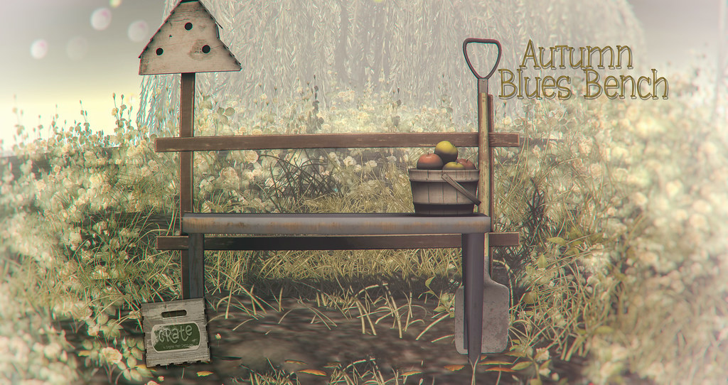 crate Autumn Blues Bench - TeleportHub.com Live!