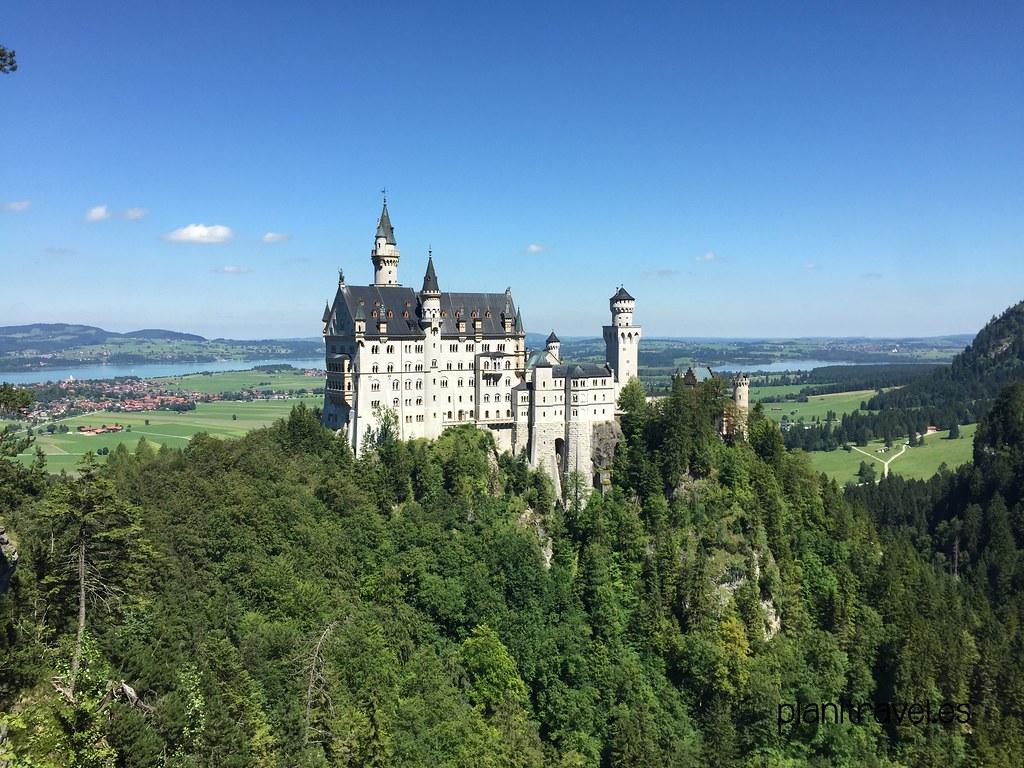 Visitar los castillos del Rey Loco