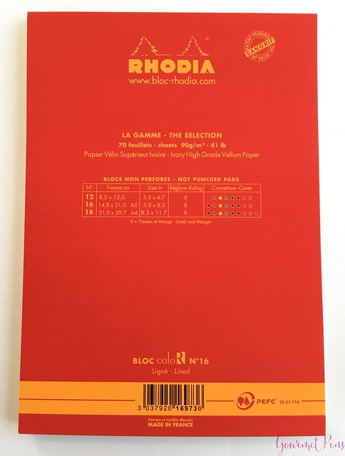 Rhodia ColoR Note Pad @exaclair @exaclairlimited 3