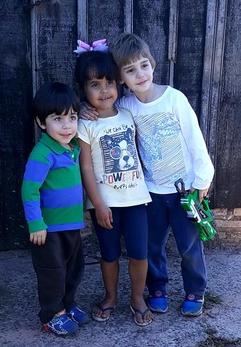 Os priminhos, The little cousins
