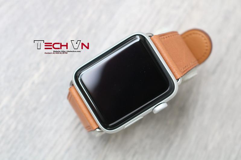 Techvn - Dây đeo apple watch Classic Buckle Brown 06