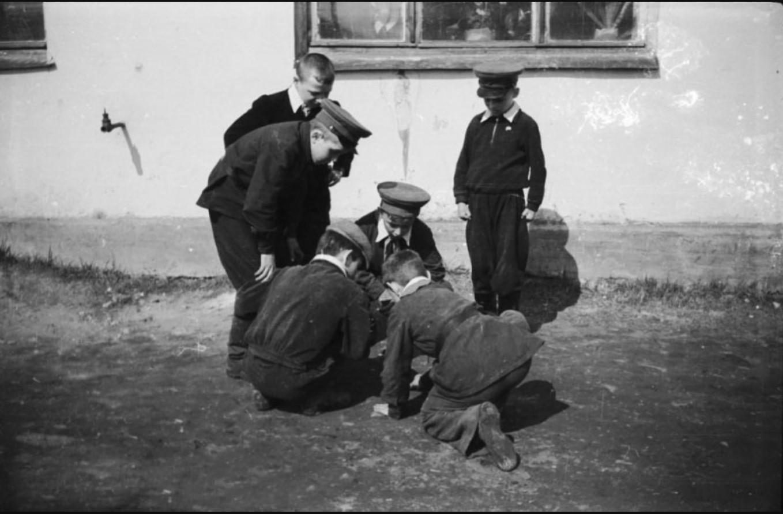 1958. Игра в чику. Пермь