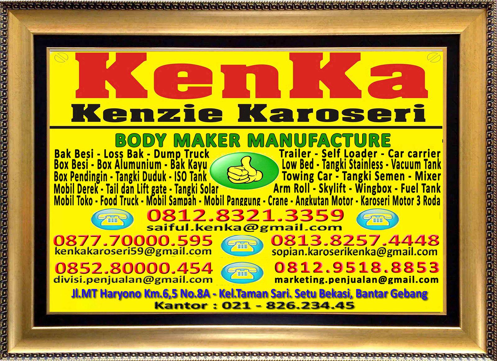 Karoseri Mobil & Truck KenKa - Saiful - Nipo - Sopian - Thamrin - Susie