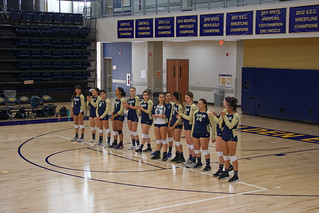 WHCL Volleyball's First Game: Student Perspective