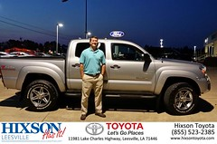 #HappyBirthday to Christopher from Cindy Crosby at Hixson Toyota of Leesville!