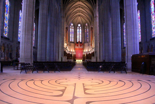Grace Cathedral Labyrinth, Canon EOS REBEL T3I, Tamron 18-250mm f/3.5-6.3 Di II LD Aspherical [IF] Macro