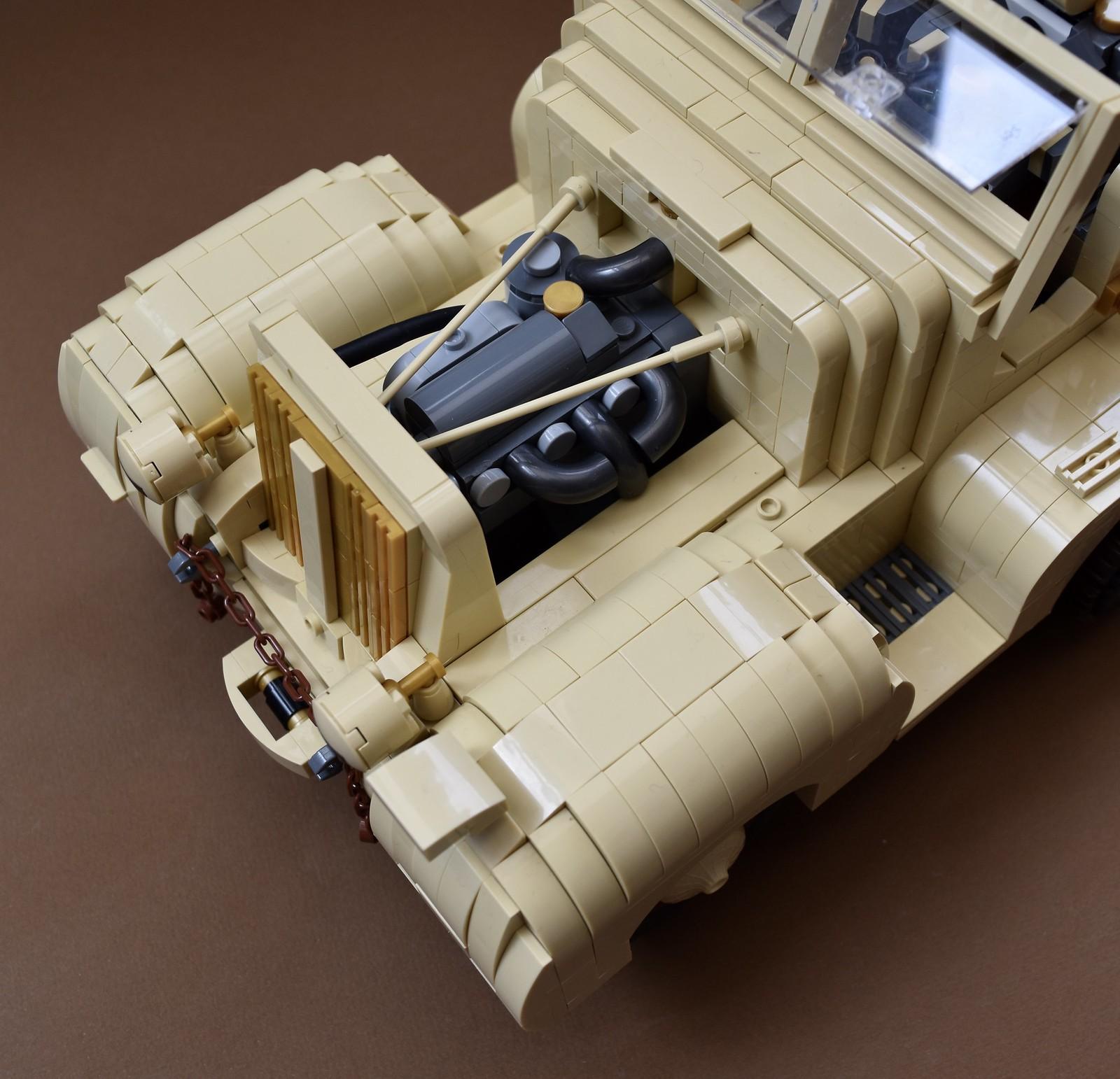 лего саморобка моторний відсік