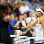 Serena Williams, Magda Linette