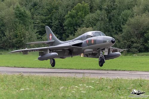 HB-RVR | Private | Hawker Hunter T.68