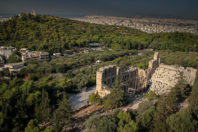 Visita a la Acropolis