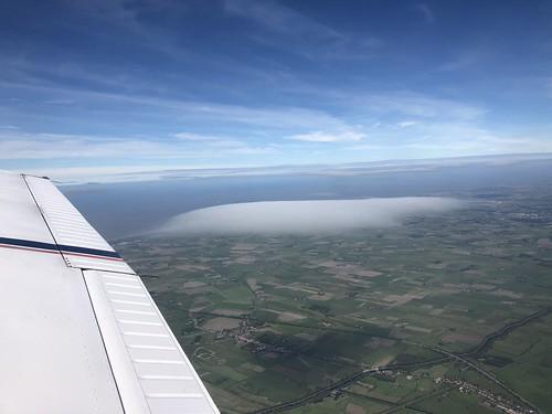 Zerkeghem, smooth carpet cloud, west of Burges 2018-09-11 14.55.24