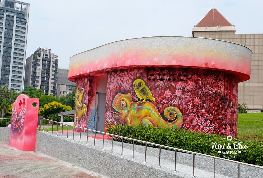 豐樂公園.彩繪廁所10