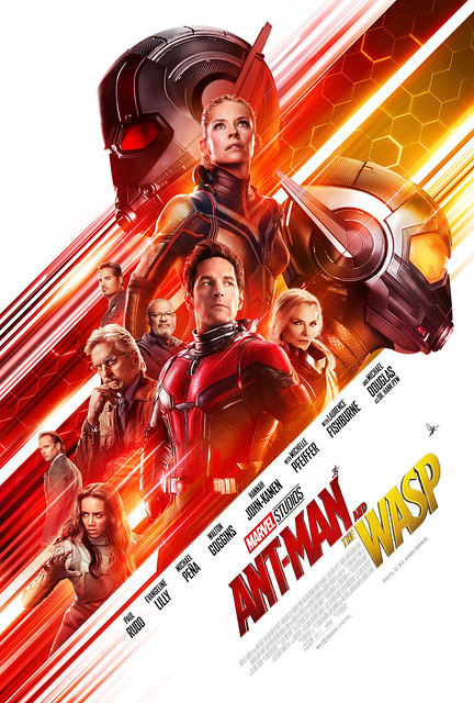 Ant-Man and The Wasp showing on October 16 (image source - IMDB)