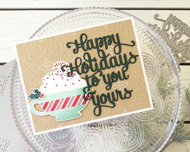 LizzieJones_PapertreyInk_September2018_MerryMug_SweetStitching_SayItSimply_HappyHolidaysCard