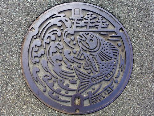 Genkai Fukuoka, manhole cover (福岡県玄海町のマンホール)
