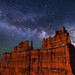 """Milky Way over The Fortress by IronRodArt - Royce Bair (""""Star Shooter"""")"""