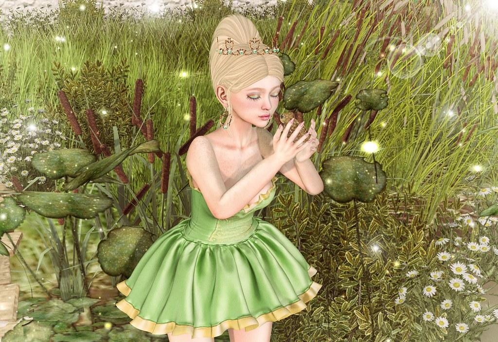 """❀ Look Carol145 Bebb ❀ # 1002 The Frog Prince """"contest entry"""""""