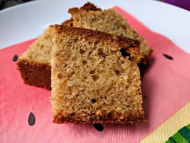 Toasted Hazelnut Pound Cake