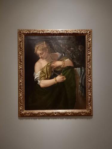 DSCN2670 - Lucretia, Veronese, The Pre-Raphaelites & the Old Masters