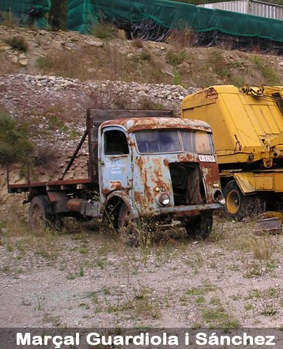 camió museu del Transsport Castellar de n'Hug transportista Manresa