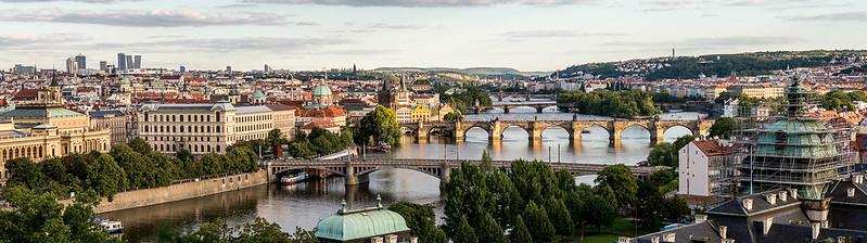 Praga, panorámica