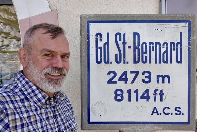 Gran St Bernard pass