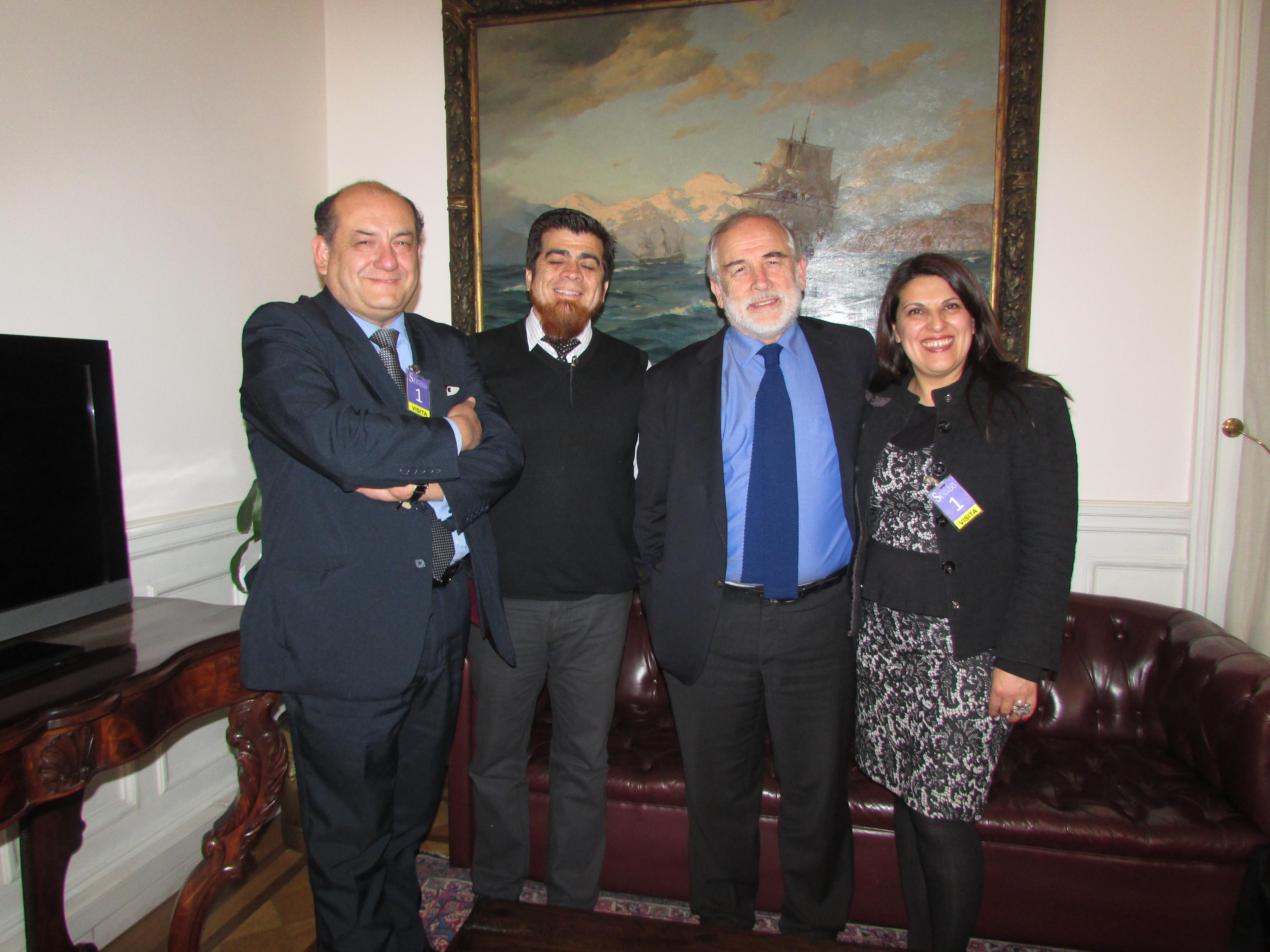 AFUDEP se reúne con presidente del Senado, Carlos Montes – 16 Agosto 2018