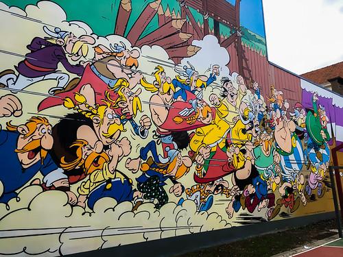 Mural Asterix el Galo