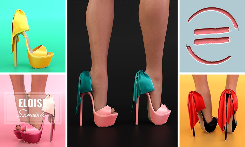 Eloise Sandals @equal10 - TeleportHub.com Live!
