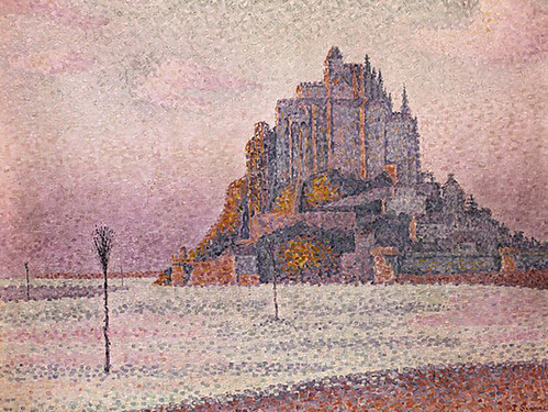 art-signac-mont-saint-michel