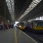 14.53 to Glasgow arriving at Platform 5