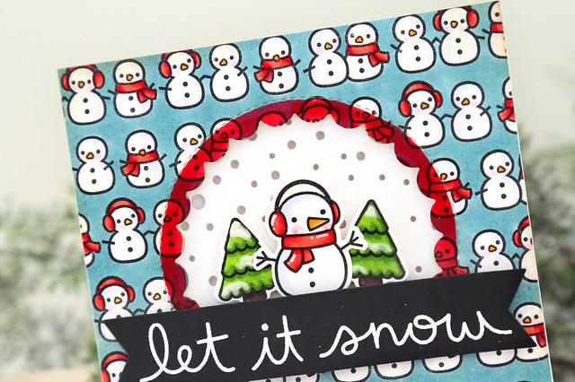 so many snowmen (Lawn Fawn inspiration week)