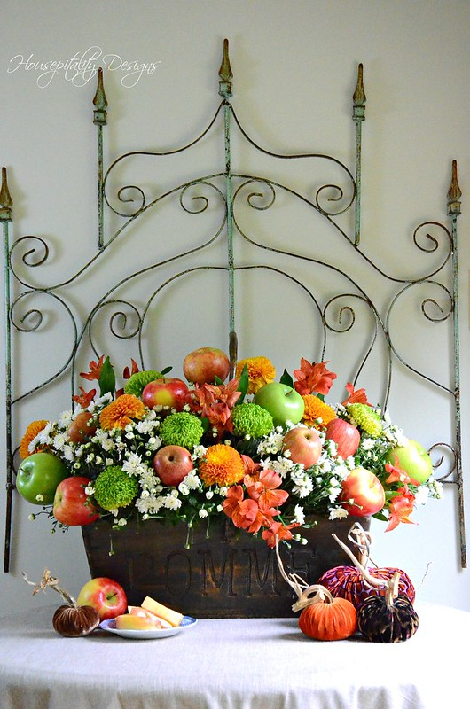 Fall Apple Centerpiece-Housepitality Designs-2