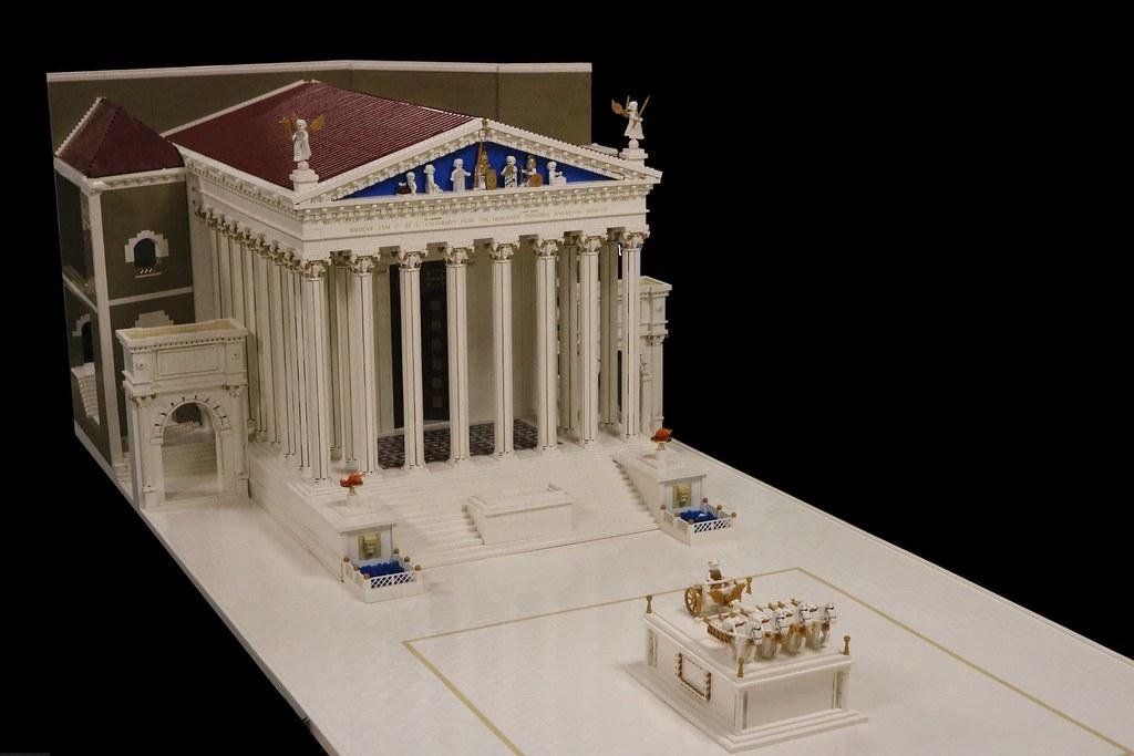 Temple of Mars Avenger - Forum of Augustus