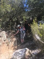 Careful descent - Photo of L'Albère