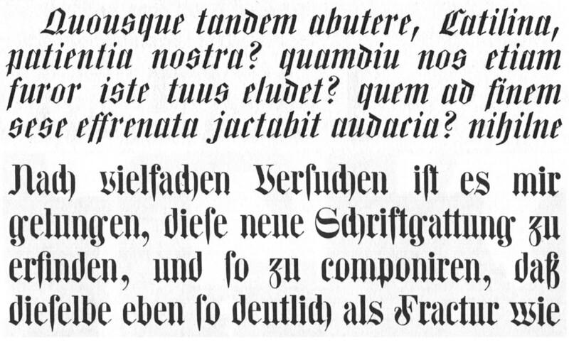 Mittel Schochische Cursiv and the Centralschrift