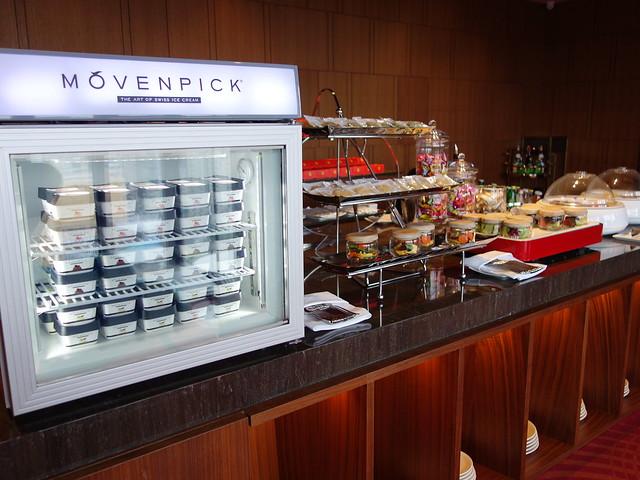 行政酒廊有MOVENPICK冰淇淋@高雄H2O水京棧國際酒店