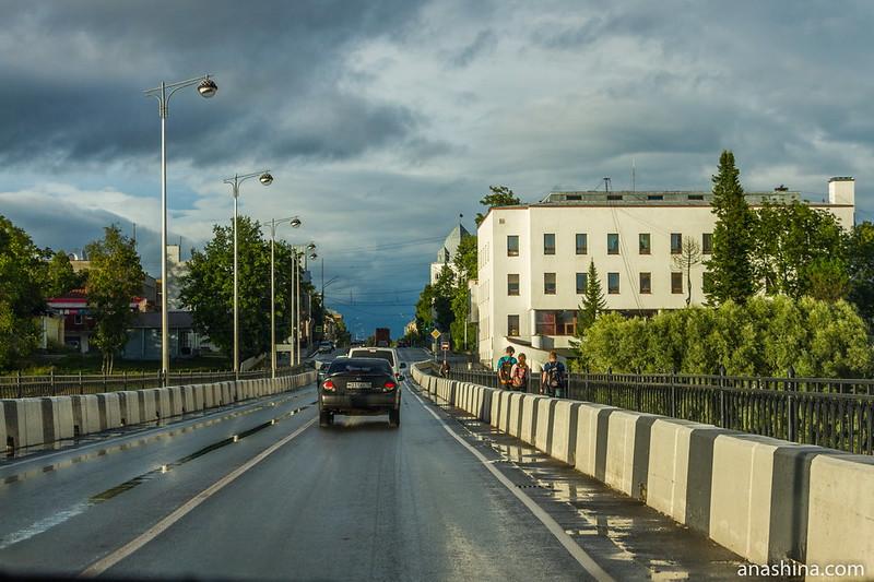 Карельский мост через залив Вакколахти, Сортавала, Карелия