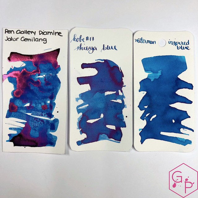 Pen Gallery Diamine Jalur Gemilang Ink Review 9