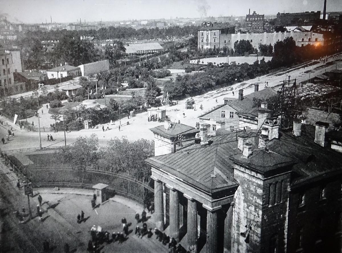 Вид на Лиговскую улицу от Московских ворот