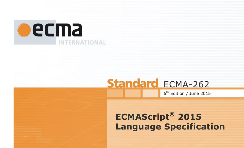 ECMAScript 2015,