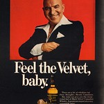 Sat, 2015-08-29 12:54 - 1978 Black Velvet Whisky Advertisement with Telly Savalas Playboy October 1978