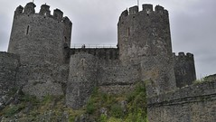 Conwy Castle and town walls