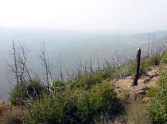 Smokey view from Hat Creek Rim