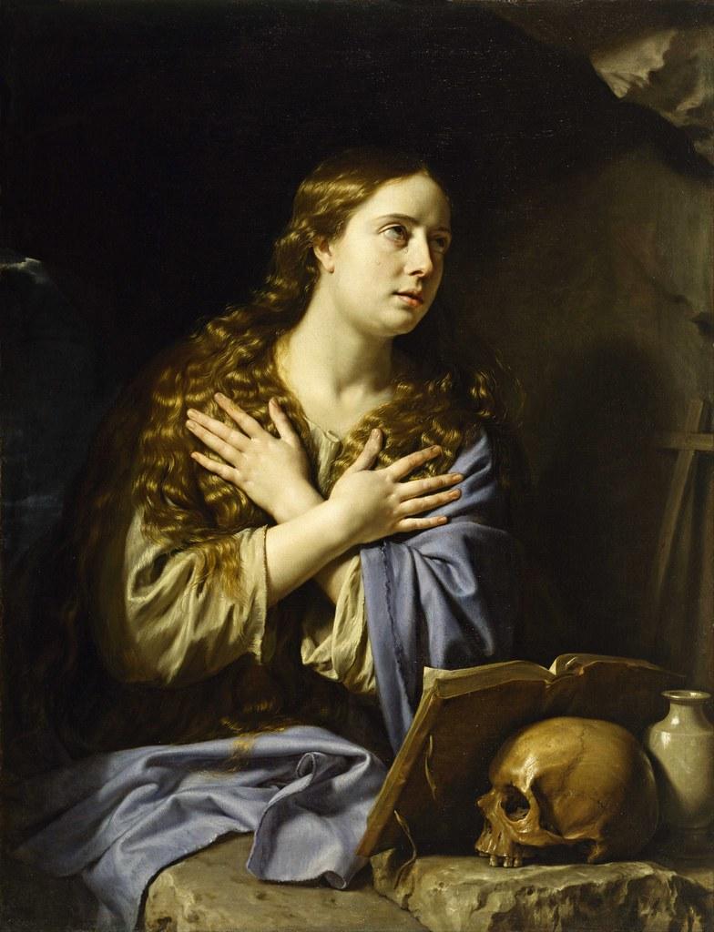 Philippe de Champaigne - The Repentant Magdalen (1648)