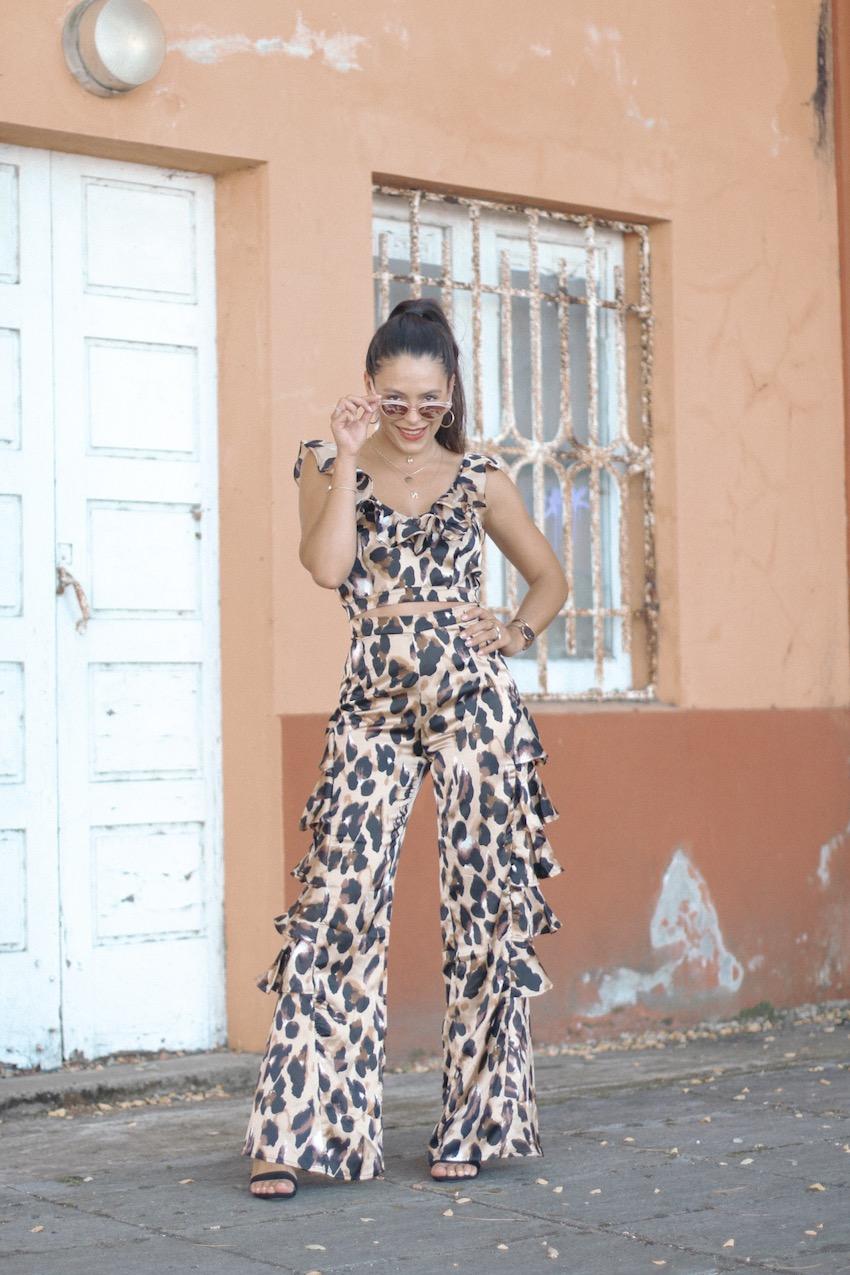 look estampado leopardo