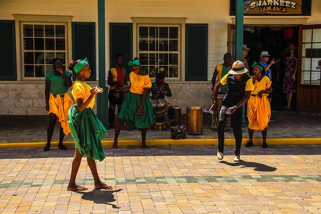 Dance Performers, Falmouth, Jamaica, Tuyen Chau